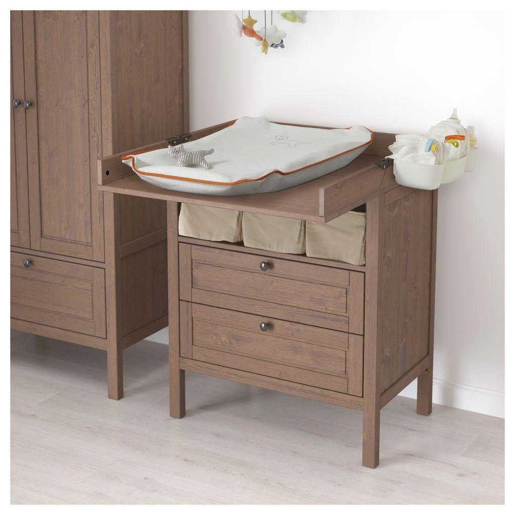 Bon Inspirant Ikea Chambre Bebe Table A Langer