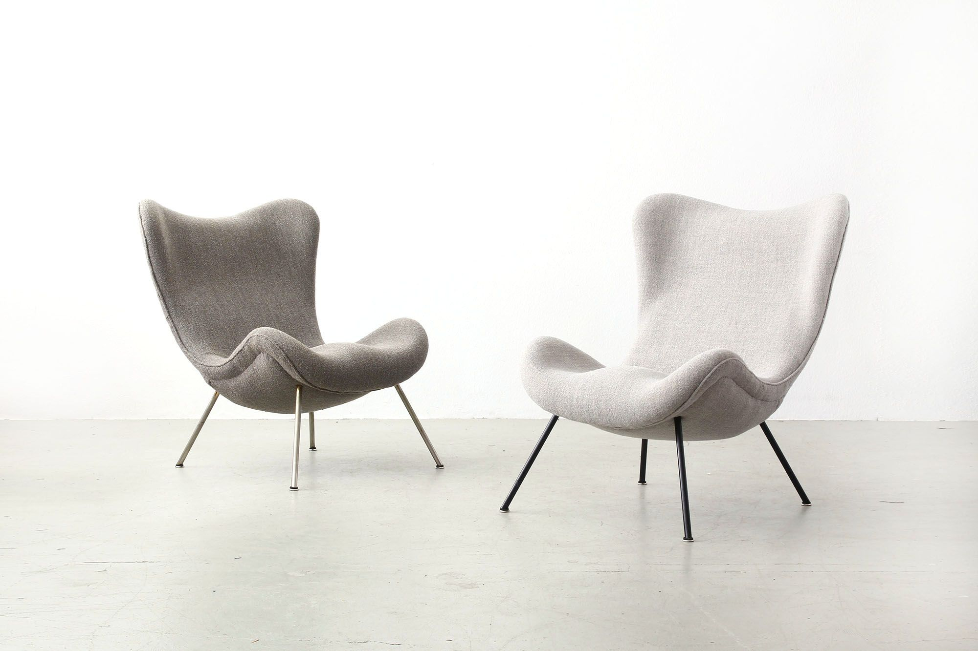 Moderne Ausgefallene Sessel Beautiful Fritz Neth Lounge Chairs For Correcta Mid Century Modern