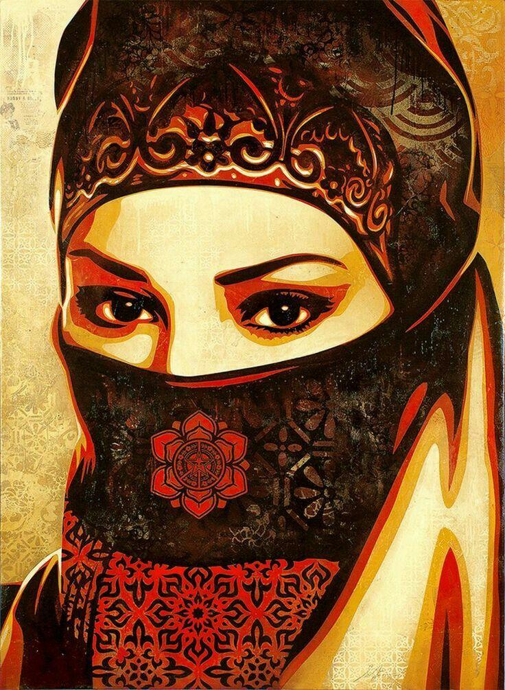 pin by ajmal on hijab in 2018 pinterest art affiche. Black Bedroom Furniture Sets. Home Design Ideas