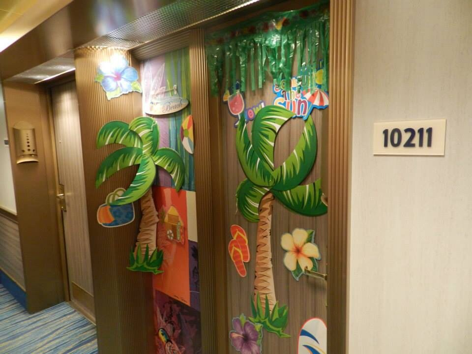 Cruise door decoration | cruise | Pinterest | Cruises ...
