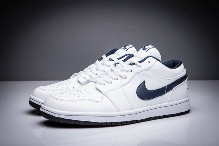 new arrival d1e46 9afd2 Original Air Jordan 1 Low White Midnight Navy Sail 705329-106