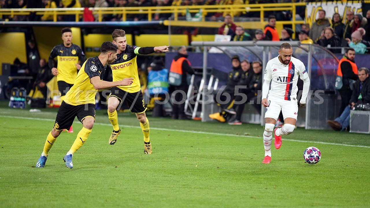 Borussia Dortmund 21 PSG Haaland inspires hosts to first