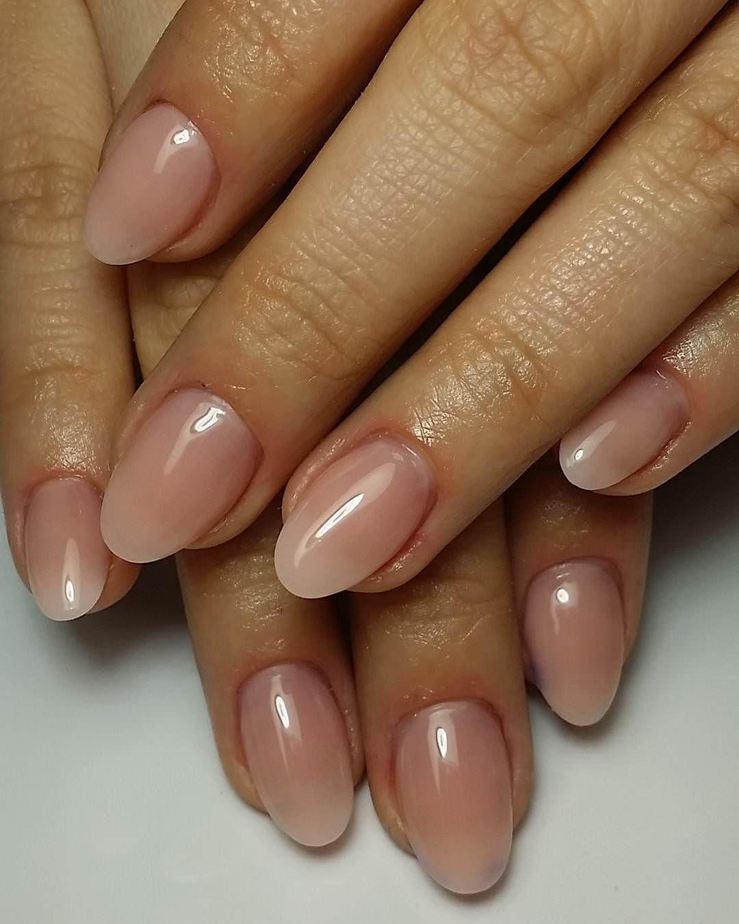 Image Result For Gel Nails Natural Oval Oval Nails Designs Short Acrylic Nails Natural Acrylic Nails