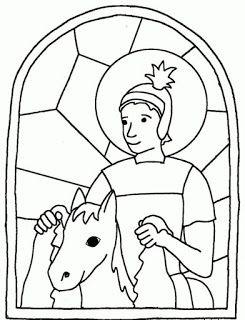 Maestraemily San Martino Da Colorare San Martino Pinterest