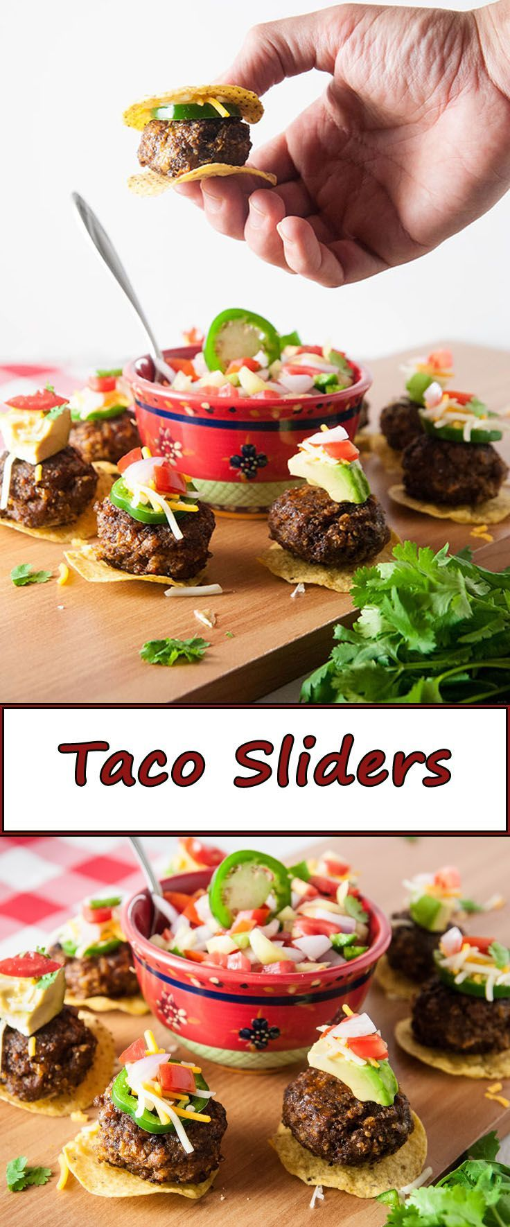 Taco sliders dinner pinterest recipes food groups and burgers lamb recipes forumfinder Gallery