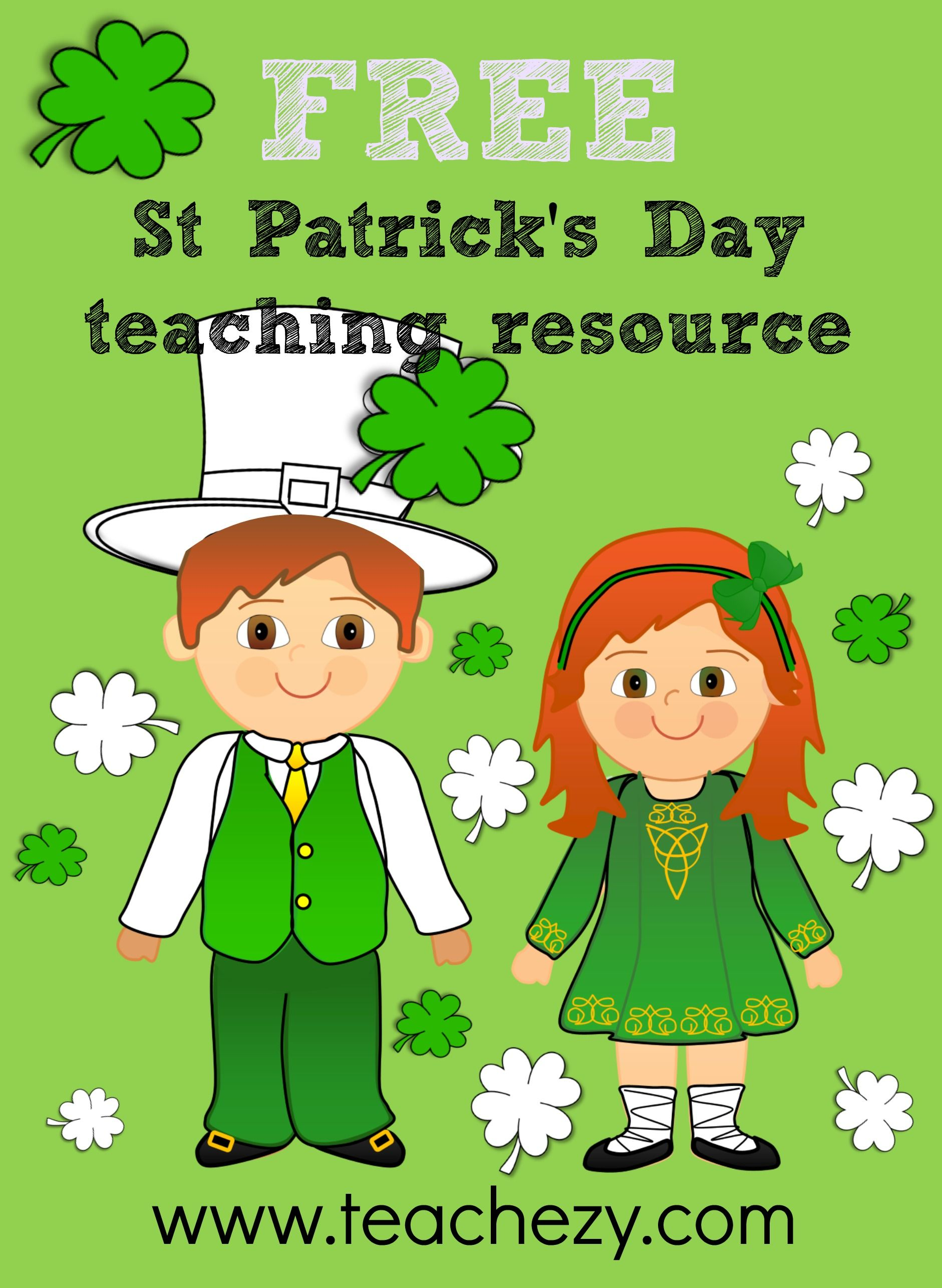 Free St Patrick S Day Activities To Use In The Classroom