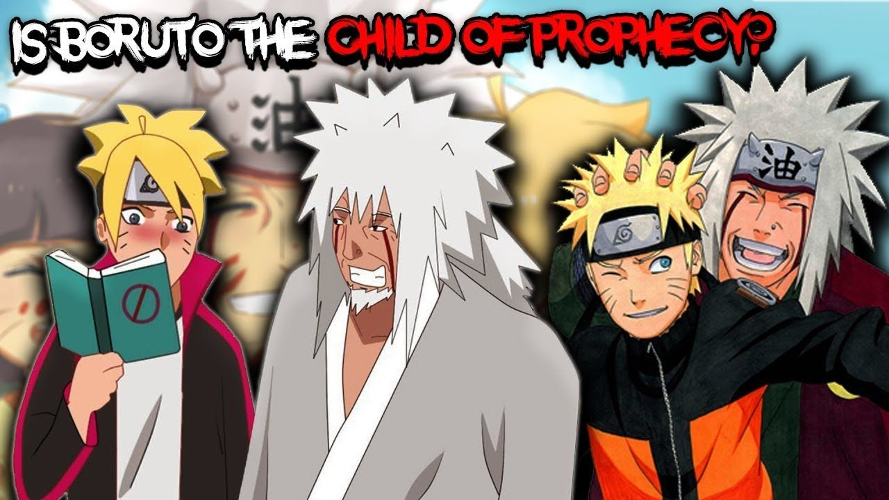 is Boruto The Child of Prophecy Jiraiya Talked About