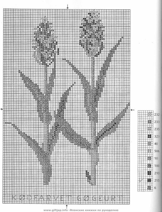 Wild Flowers in Cross-Stitch (29)