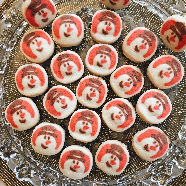 Pillsbury Christmas Cookies.Pillsbury Christmas Holiday Snowman Sugar Cookies Oh
