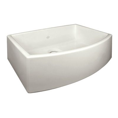 Shaws Waterside Single Bowl Bowed Apron Front Sink By Rohl