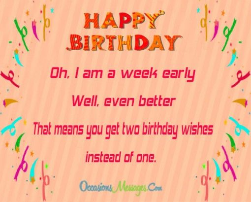 Early birthday wishes birthday cards in 2018 pinterest early birthday wishes m4hsunfo