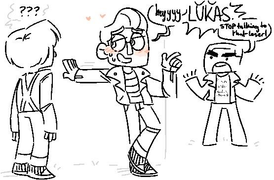 Jesse X Lukas Oio Minecraft People Art