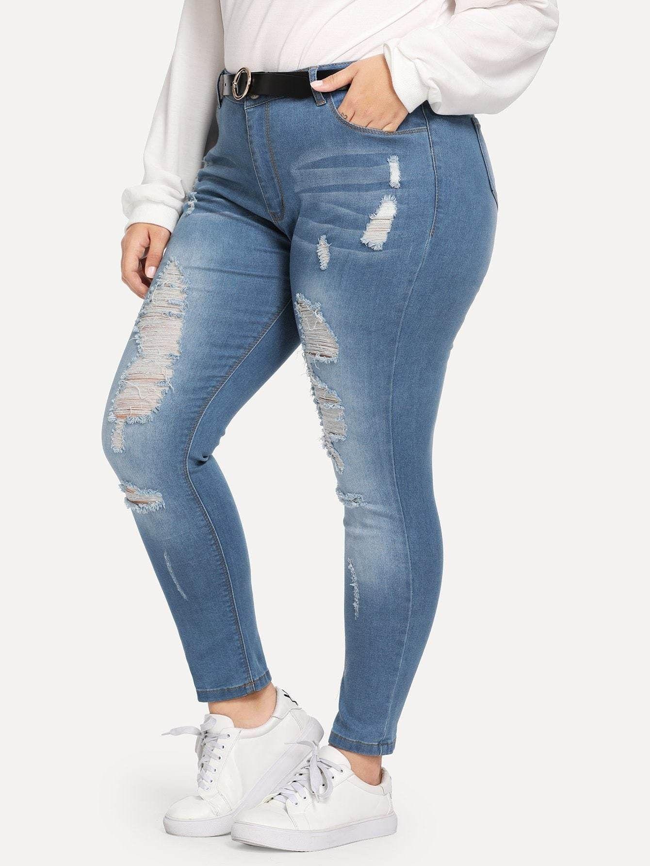 Pin en Jeans Mujer Tallas Grandes