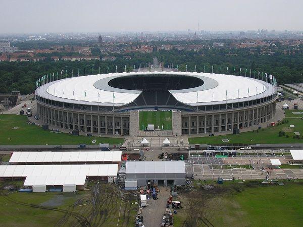 Olympic Stadium Berlin Estadio Olimpico De Berlim Futebol Alemao Berlim Alemanha