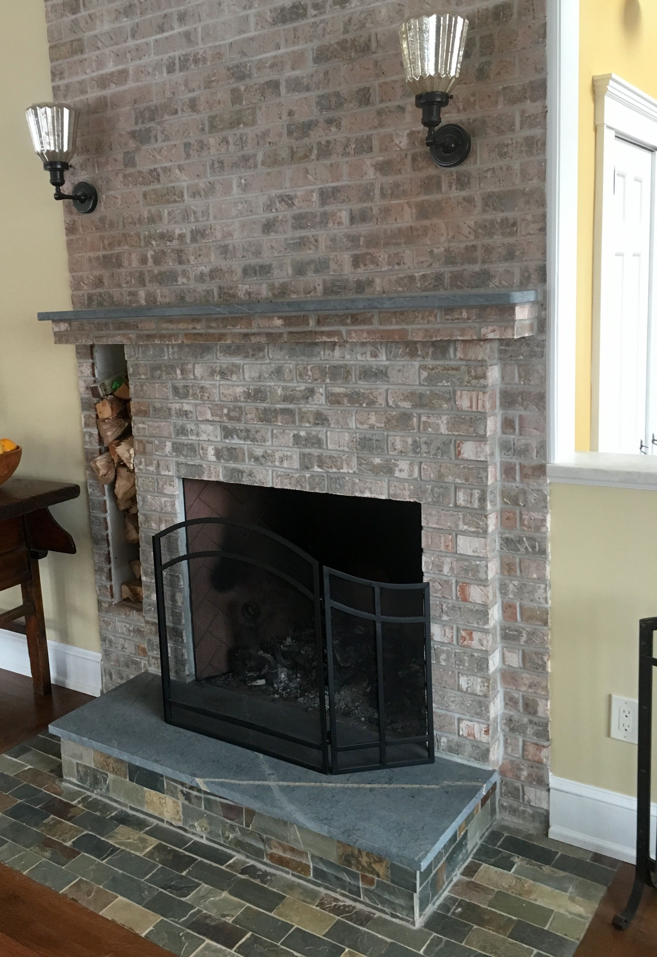 Soapstone Fireplace Hearth And Mantle Www Gardenstatesoapstone Com Fireplace Hearth Fireplace Hearth