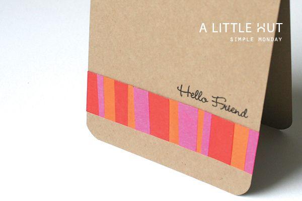 simple monday - scraps by A Little Hut, via Flickr