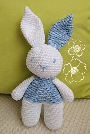 conejo de crochet patrón en español | AMIGURUMIS | Pinterest ...