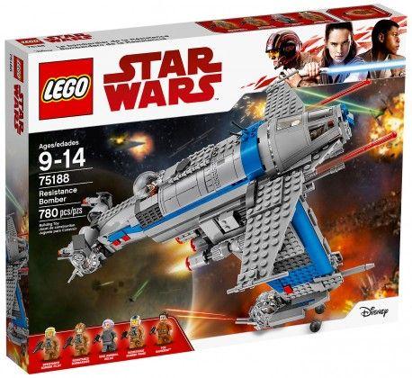 LEGO 75188 Star Wars Resistance Bomber MISB