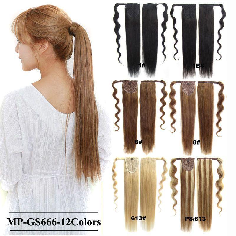 Bado Hair Straight Magic Human Hair Ponytail Hair Extensions Hair