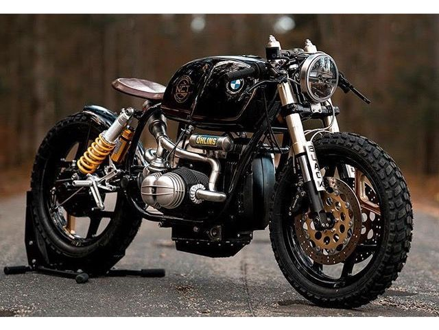"""awesome bmw r100 build called """"black stallion""""nct motorcycles"""