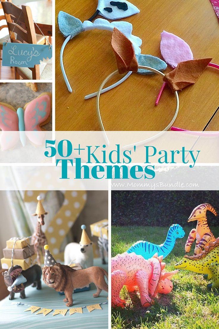 Kids Party Theme Roundup