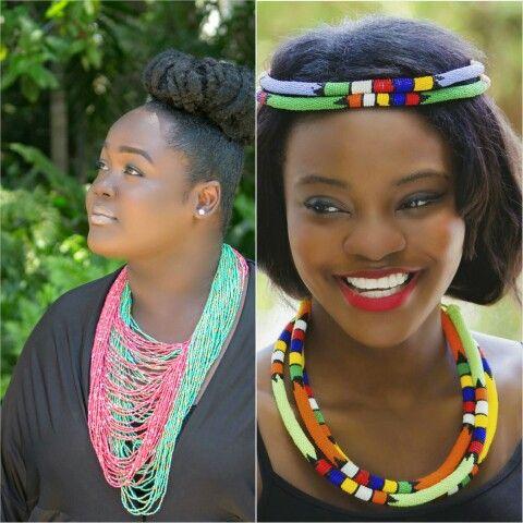 Beaded Necklace South African Beaded Jewelry Zulu Necklace Handmade Jewelry Www Femmesroyales Com African Jewelry African Beads Beauty Accessories