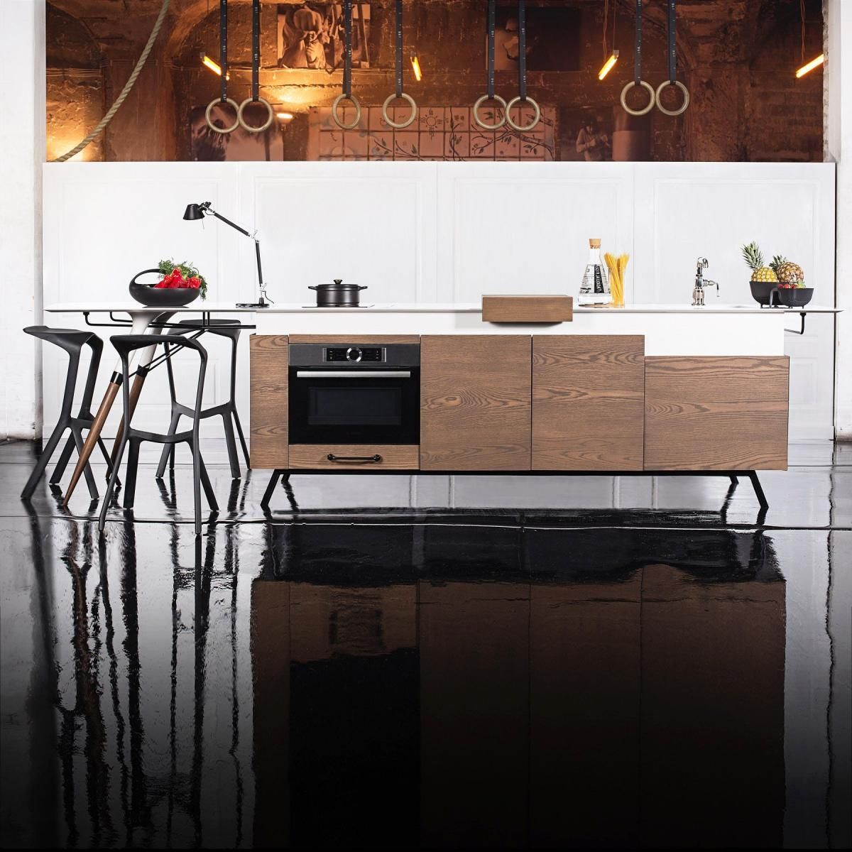 Kitchen Design Competition Gorgeous Very Stylish Modern Compact Kitchen  Kitchen Modern  Pinterest Inspiration Design
