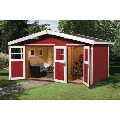 Abri jardin en bois TYPE 261 taille 1 - WEKA | Idées salle de ...