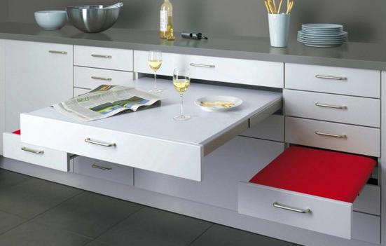 astuce cuisine gain de place pour les solitaires mobiliers modulables pinterest meubles. Black Bedroom Furniture Sets. Home Design Ideas