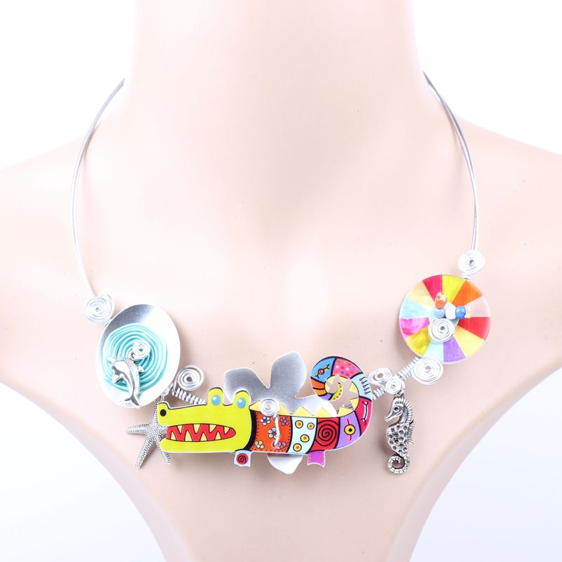 Aliexpress.com : Buy 2pcs/lot necklace & pendant cute girls acrylic for woman shell stone lovely fashion new 2014 necklace dog & pendants necklaces from Reliable pendant decoration suppliers on Beautiful Fairy