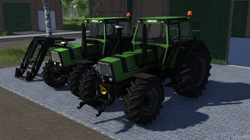 Cattle And Crops Deutz Dx90 And Deutz Dx140 Tractor V 0 1 Download Tractors Cattle Farming Simulator