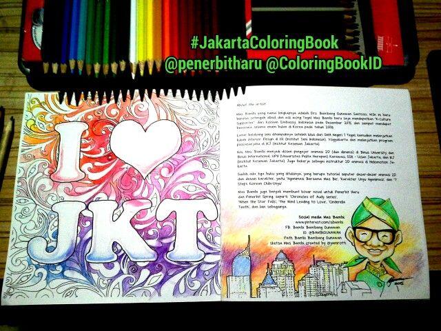 Mas Be Coba Mewarnai Halaman Terakhir Coloringbook Exploringjakarta Bukumewarnaidewasa Jakartacoloringbook Dari