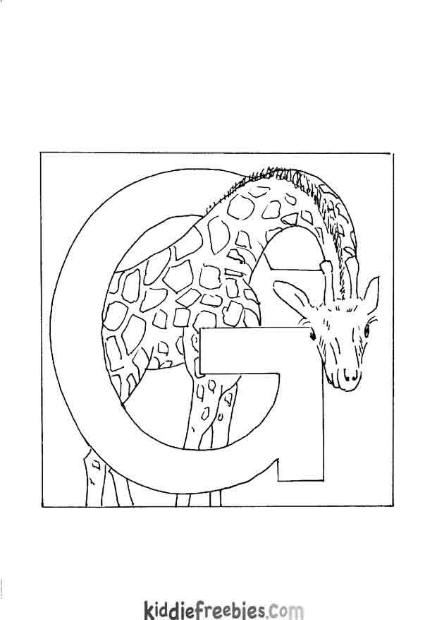 coloring pages animals alphabet youtube - photo#16
