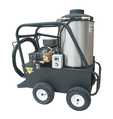 Q Series 54 In Oil Fired Hot Water Pressure Washer 75 Hp