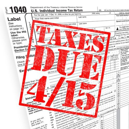 Tuesday April   Deadline To File Individual Tax Returns