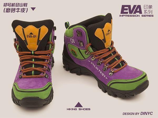 online store 4f048 f1870 CHRISTMAS LIST: 'Evangelion'-Themed Hiking Boots | Kicks ...