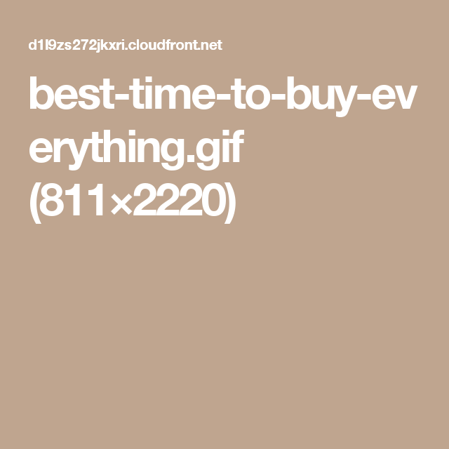 best-time-to-buy-everything.gif (811×2220)
