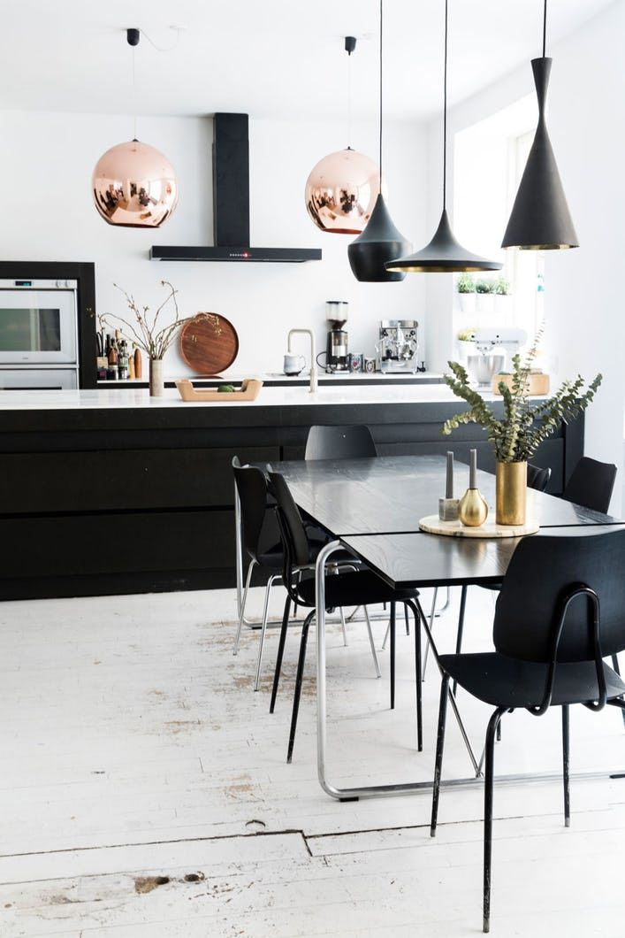 Those copper globes! home sweet someday home Pinterest Black