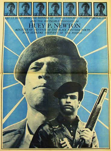 Huey P. Newton Poster from Black Panther Party newspaper. Poster design   Emory Douglas 6ff9d23fc306