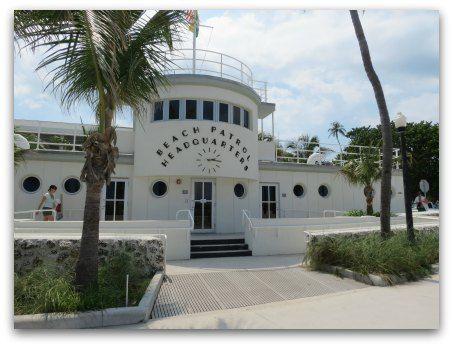 Beach Patrol Headquarters South Beach, (Art Deco) architect Robert Taylor, 1934