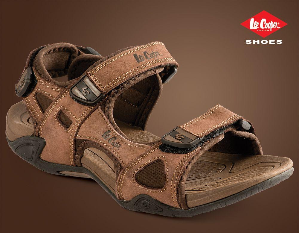 3adc967fb534c1 Lee Cooper men s footwear trend. LC-1480 Brown  LeeCooper Men s Sandals