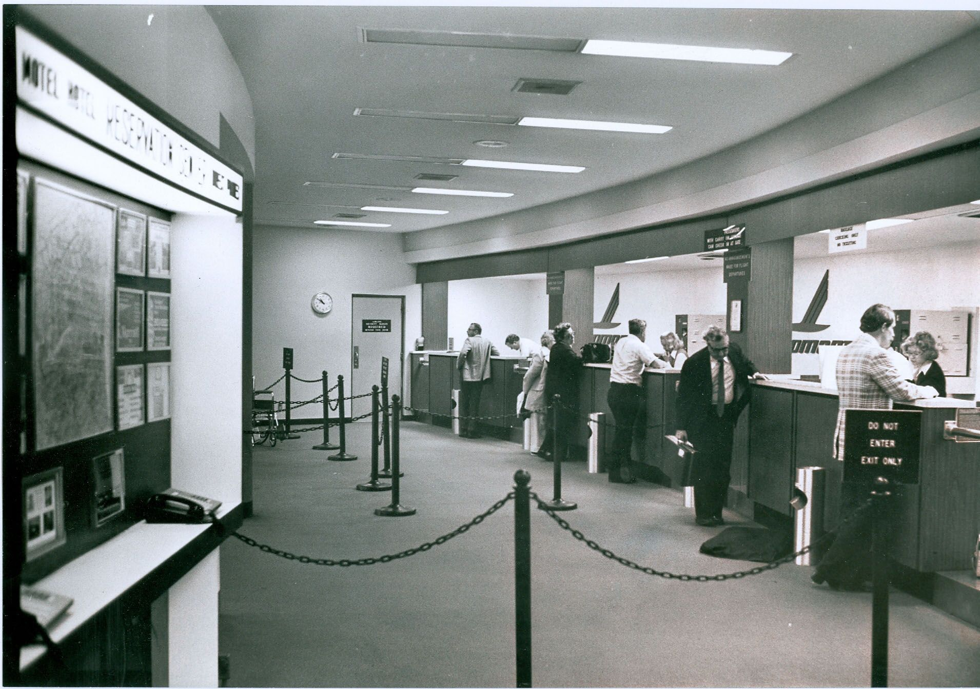 #TBT #ThrowbackThursday Who remembers when the airport terminal looked like this?