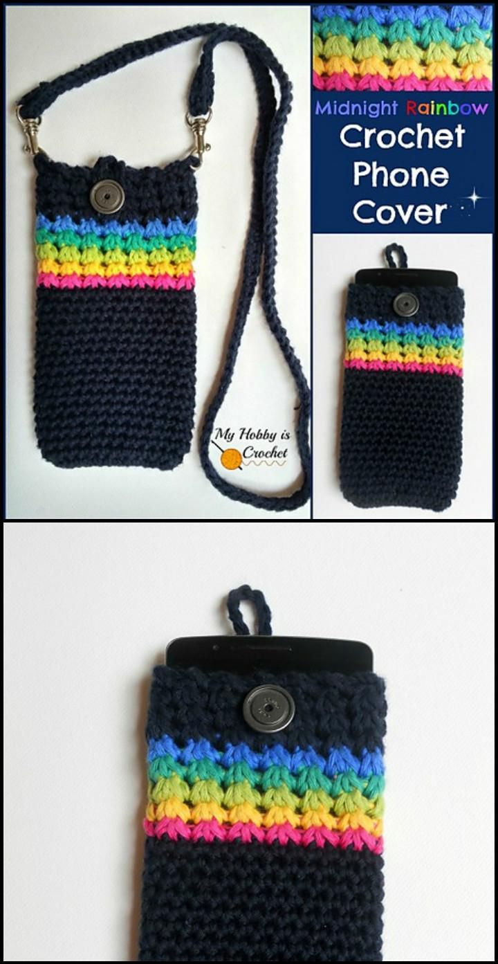 Knitted phone case is an accessory that does not go out of fashion 25