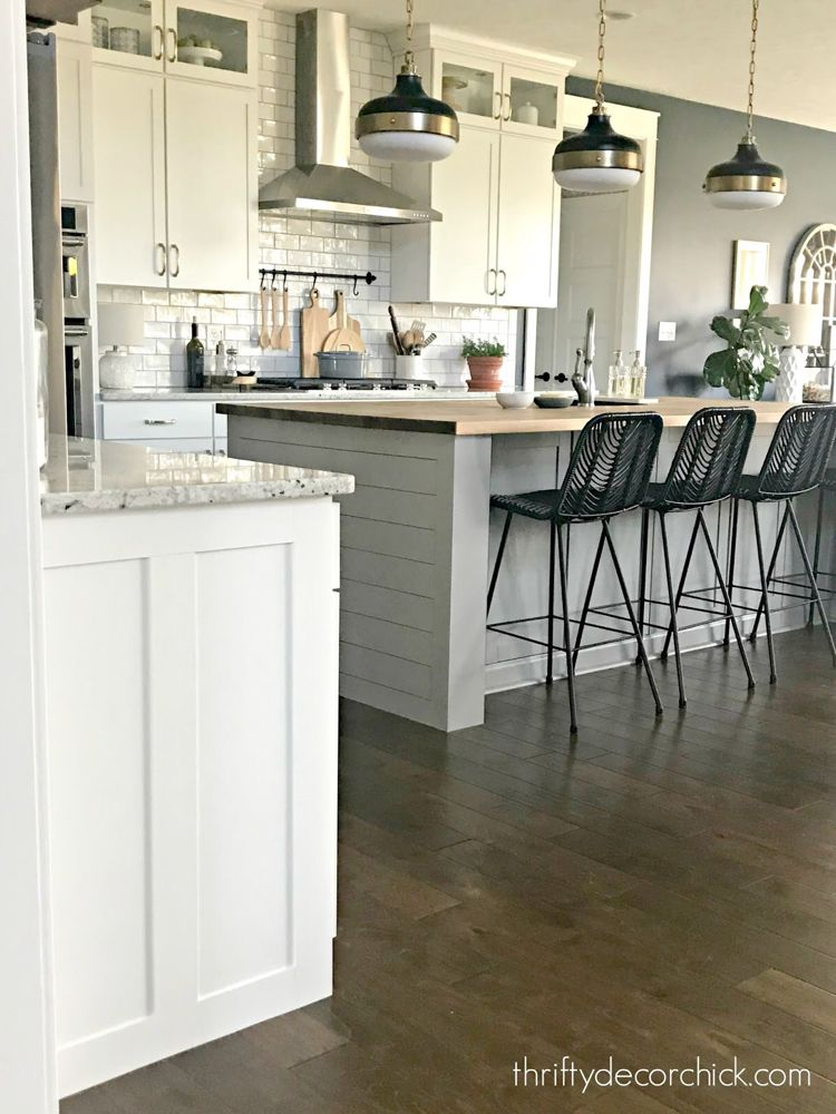 How to upgrade the end of your builder grade cabinets in ...