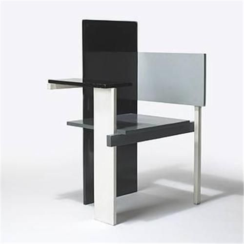 Chairs Berlin gerrit rietveld berlin chair history 6 de stijl