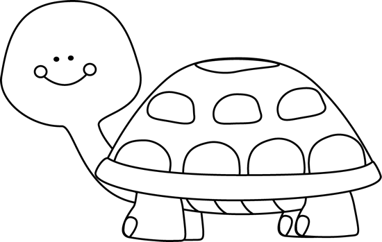 Black and White Turtle Clip Art   Black and White Turtle Clip Art Image - black and white outline of a ...
