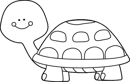 Clip Art Black And White Black And White Turtle Clip Art Image