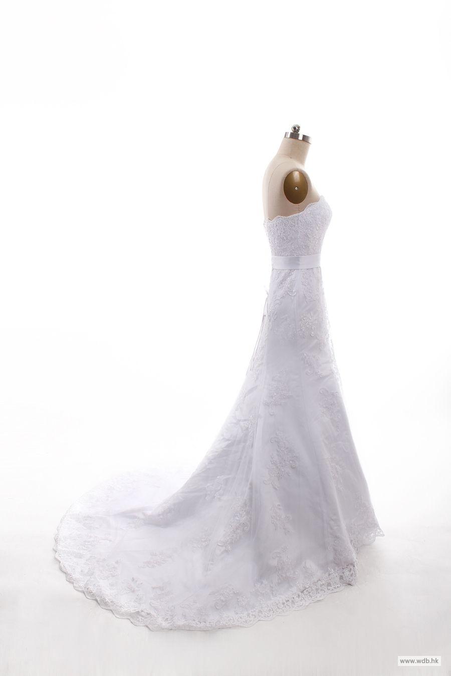 Dropped waist wedding dress  disney wedding Pretty Sleeveless with Dropped waist wedding dress