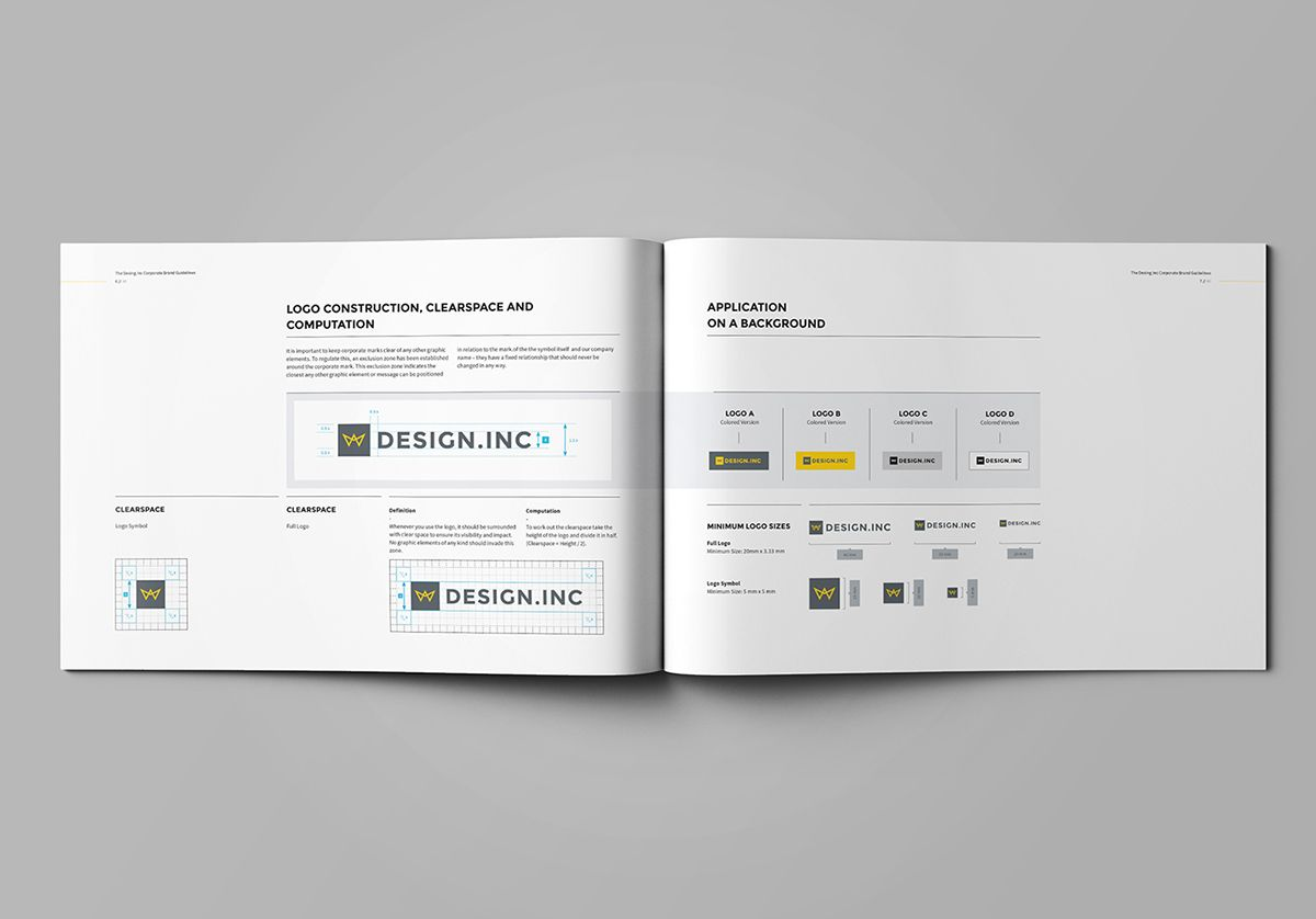 Brand Manual On Behance  Manual Identidad    Brand