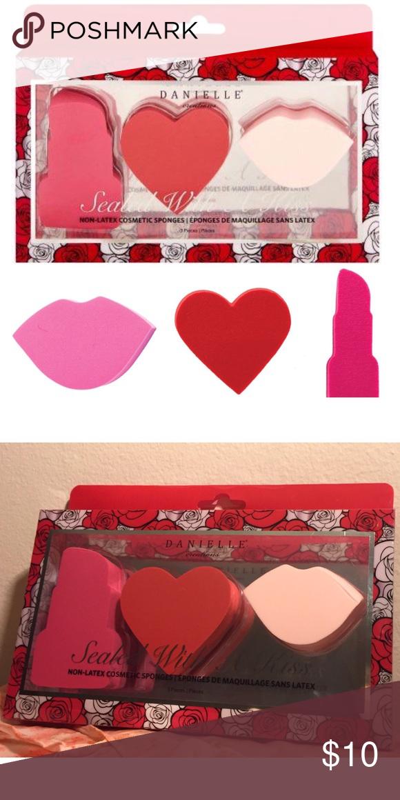 3pcs Danielle Beauty Sponge Makeup Blender Set Boutique